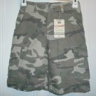 New FADED GLORY VINTAGE SHORTS CAMO Camouflage Cargo Boys Size 7 Boy