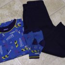 Used GYMBOREE PANTS SHIRT SOCKS Small 3 Home Run Sports