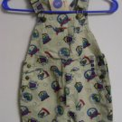 New GYMBOREE Vintage FAIRWAY SHORTALLs Bibs Small 2T 3T