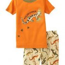 New GYMBOREE PAJAMAS PJs Sz 5 Orange SALAMANDER Bug Detective