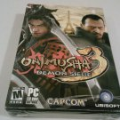 New ONIMUSHA 3 Demon Siege PC Game Videogame 2006 Ubisoft Capcom