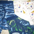 3 New GYMBOREE UNDERWEAR Brief 8 10 Iguana Dog Baseball