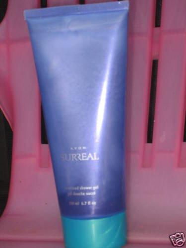 2 New AVON Fragrance SURREAL Pearlized SHOWER GEL 2005 Women