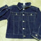 USED GYMBOREE JEANS DENIM JACKET Large Sz 5 Boy