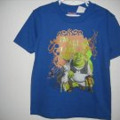 New SHREK 3 SHIRT Tops Sz 5 6 Puss N Boots Donkey Cat