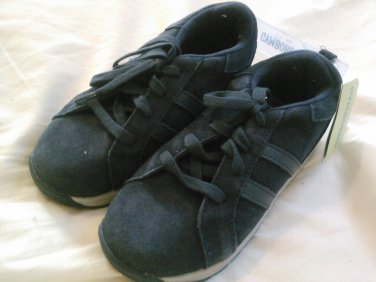 New GYMBOREE SHOES Start Your Engine Size 12 Boys Blue Shoelaces