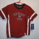 New OSH KOSH SHIRT Sz 4T Tops Athletic Department Maroon Boy