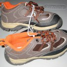 New CARTER's SHOES Sz 9.5 M 9 1/2 Sneakers Brown Boys Shoelaces
