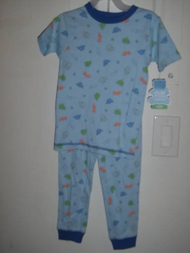 New CHILD OF MINE PAJAMAS 5T PJs Gymmies Dinosaur Carters
