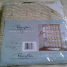 New Pacific BAMBOO PALM TREE FABRIC Shower Curtain Duck Cotton