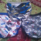 3 New NWOT Batman UNDERWEAR Briefs Sz 4 Boys Dc Superman Justice League