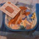 New Disney Store Little Mermaid Lunchbag Lunch Bag Tote Ariel Fish