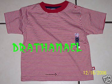 New GYMBOREE Stars & Stripes July 4 4th Red Medium M