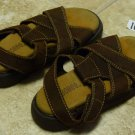 USED GYMBOREE SANDALS Sz 11 Brown Shoes Big Boys
