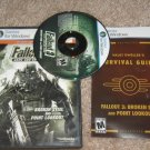 USED FALLOUT 3 Game Add-on Pack Broken Steel and Point Lookout PC Game Videogame