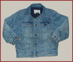 Boys TCP Fleece lined Denim jacket coat 5 6 HCTS