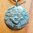 GORGO- GORGONION Grecian Amulet, Pagan Talisman, Pendant
