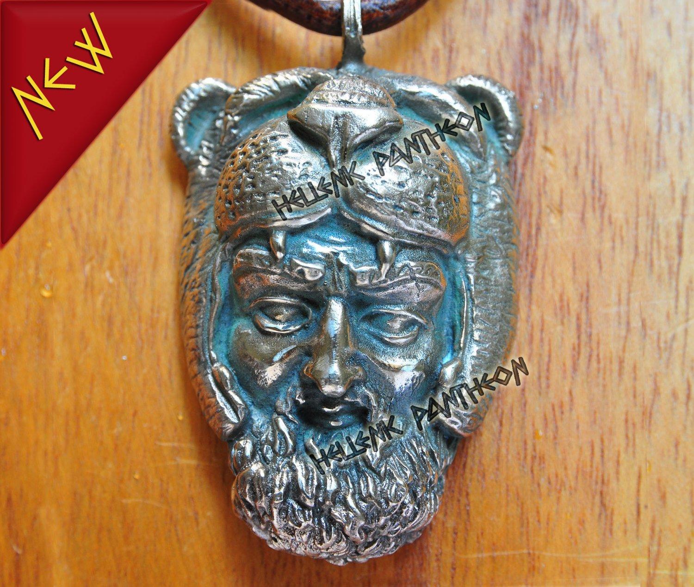 HERCULES  Pagan Talisman - Wican Amulet, LARGE
