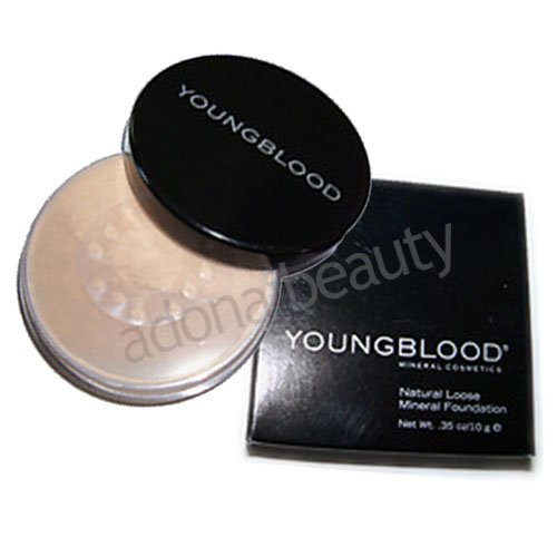 YOUNGBLOOD WARM BEIGE Natural Loose Mineral Foundation 10g/0.35o