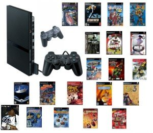 PS2 Action Bundle System 22 Games and more.