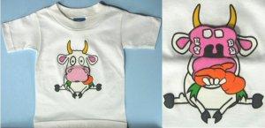 kids flip up T-shirt 0444C