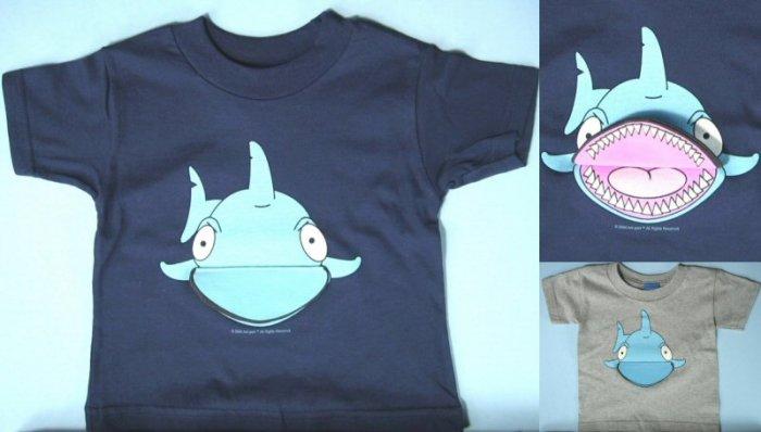 kids flip up T-shirt 0448C