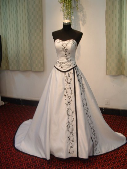 wedding dress hd009