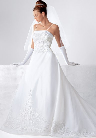 wedding dress hd011