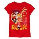 Disney Jessie (Toy Story) Graphic Tee Girls Size 6