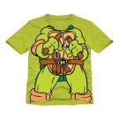 Teenage Mutant Ninja Turtle Graphic Tee Shirt Boys Size 4