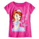 Disney Princess Sofia Graphic Tee Girls Size 3