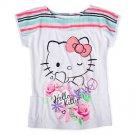 Hello Kitty Graphic Tee Girls Size 6