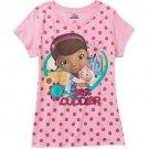 Disney Doc McStuffins Graphic Tee Shirt Size 3