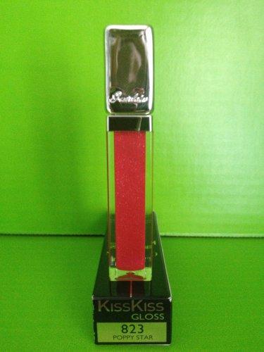 brand new guerlain kisskiss lip gloss 823 poppy star