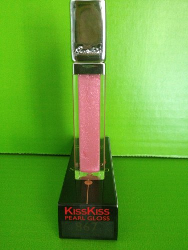 brand new guerlain kisskiss lip gloss 867 pink pearl