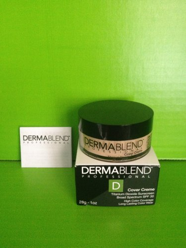 brand new dermablend professional cover creme warm ivory