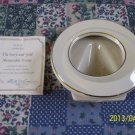 Genuine Lenox THE IVORY AND GOLD MEMORABLE FRAME w/24 Karat Gold w/Certificate!