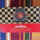 *RARE!! NASCAR WINSTON CUP SERIES 25TH ANNIV. CHAMPIONS TIN & 20 METALCARDS