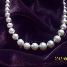 "Fabulous Vintage NAPIER 30"" Faux Pearl Necklace..GORGEOUS!!  Free Ship Too!"