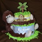 Monkey'n Around Diaper Cake