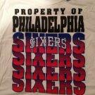 NWT NBA Philadelphia Sixers Mens Size 2XL Tshirt