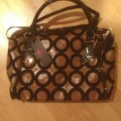 B & G Fashion Designer Handbag  Gold