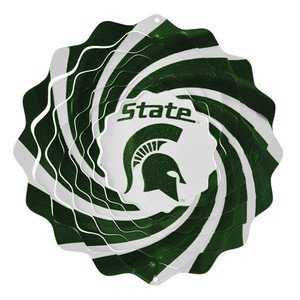 Michigan State University Collegiate Spinner Wind Spinner