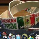 "Hecho En México White Leather Belt Mens/Womens Roller Buckle Sz Large 38""-40"""