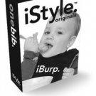 iBurp. iStyle Originals Black. Baby BIB one-size