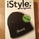 iBoard.  Black Beanie Knit Hat