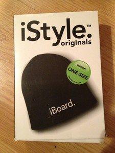 iBoard.  Black Beanie Knit Hat