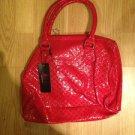 B & G Fashion Designer Handbag  Red