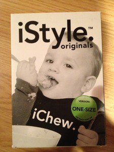 iChew. iStyle Originals Black. Baby BIB one-size