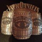 Metal JACK DANIEL'S Old No. 7 Whiskey Belt Buckle